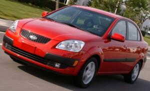 Carros económicos de combustible: Kia Rio