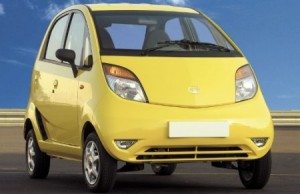 Vehculos econmicos de combustible: Tata Nano