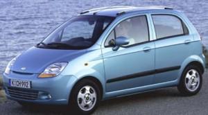 Vehiculos económicos de combustible Chevrolet Spark