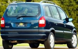 Autos Usados Chevrolet Zafira 5P
