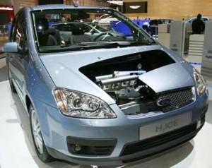 Autos de Hidrogeno Ford C-Max H2 ICE