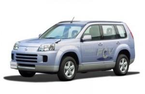 Autos de Hidrogeno Nissan X-Trail FCV