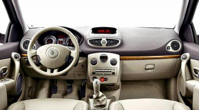 Chrysler Carros Usados >> Interior del Renault Clío 2008 | Lista de Carros