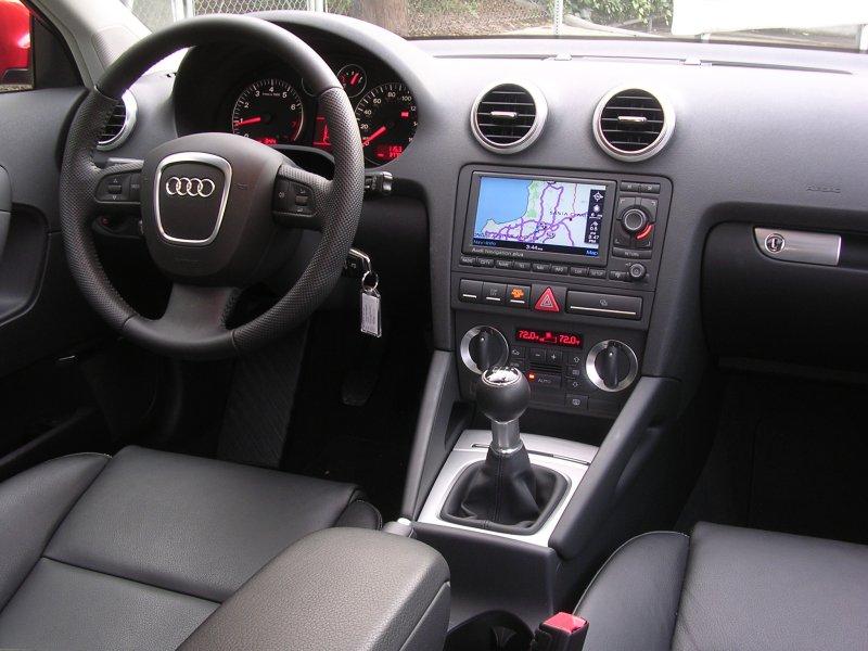 Interior Del Audi A3 Modelo 2007 Lista De Carros