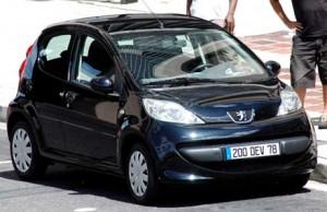 Peugeot 107 modelo 2008