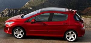 Peugeot 308 modelo 2009