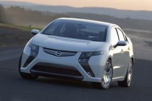 Carro Eléctrico Opel Ampera