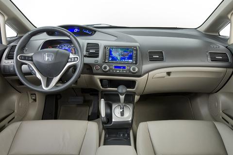 Interior del Honda Civic 2010