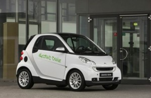 Carro Eléctrico Smart Fortwo EV
