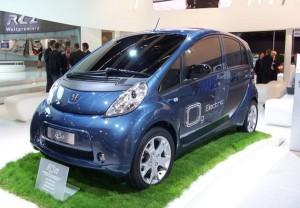 Carro Eléctrico Peugeot Ion