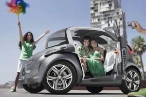 Carro Eléctrico Peugeot BB1 Concept