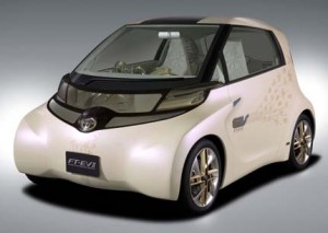 Carro Eléctrico Toyota FT-EV II