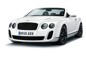 Carro Bentley Continental Super sports Convertible 2010