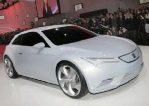 Carro Eléctrico Seat IBE Concept
