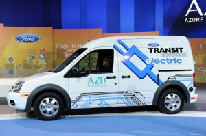 Carro Eléctrico Ford Transit Connect