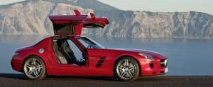Carro Eléctrico Mercedes-Benz SLS AMG