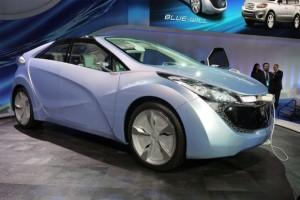 Carro Hyundai Blue-Will Concept