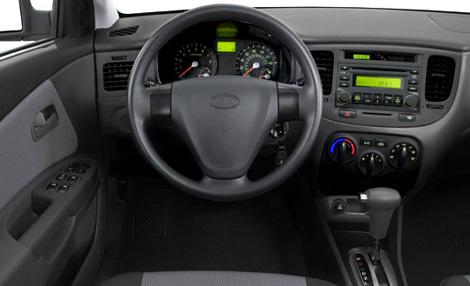 Chrysler Carros Usados >> Interior del Kia Río 2010 | Lista de Carros