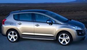 Peugeot 3008 modelo 2010