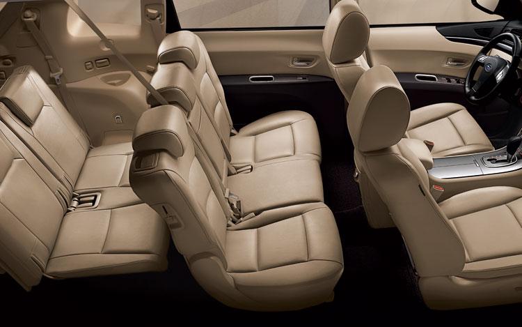 Subaru Tribeca Interior