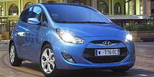 Carro Hyundai ix20, primeras imágenes oficiales