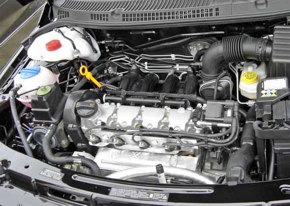 Volkswagen Voyage 2010 Cuenta Con Un Motor De 1600 Cm3 De