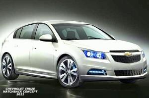 Chevrolet Cruze Hatchback Concept, imágenes oficiales