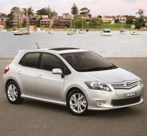 Toyota Corolla Hatchback 2010, imágenes y datos