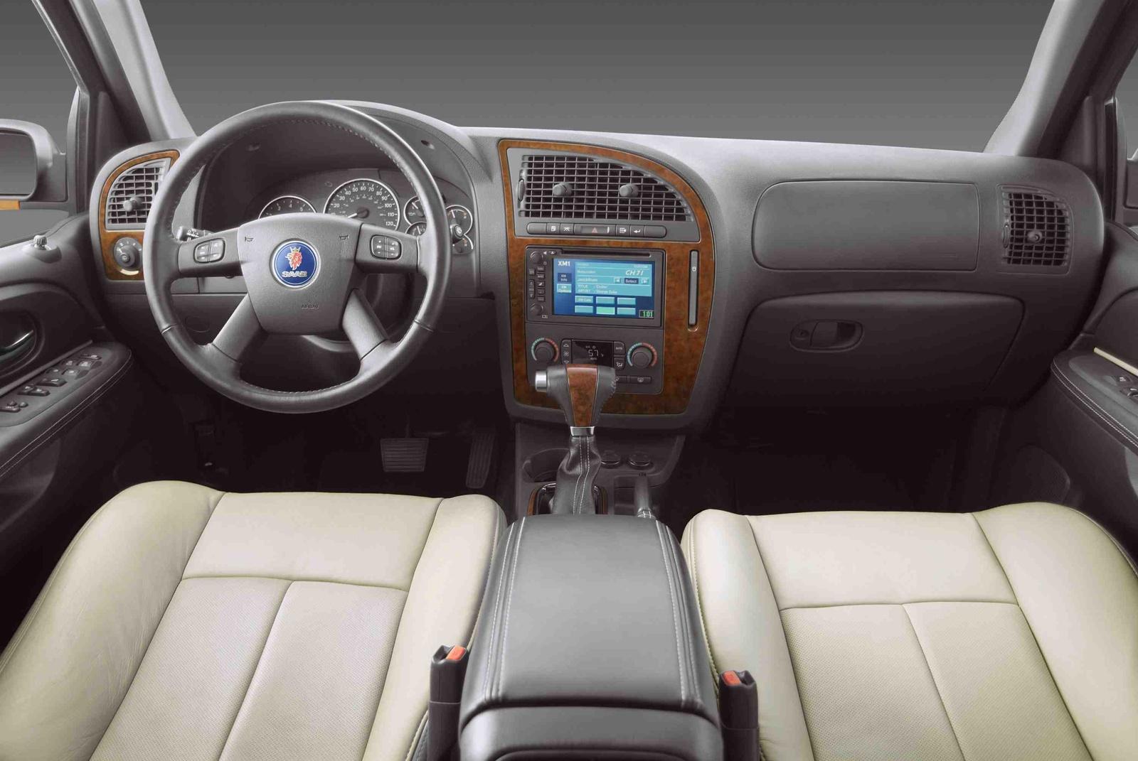 interior del saab 9 7x 2010 lista de carros. Black Bedroom Furniture Sets. Home Design Ideas