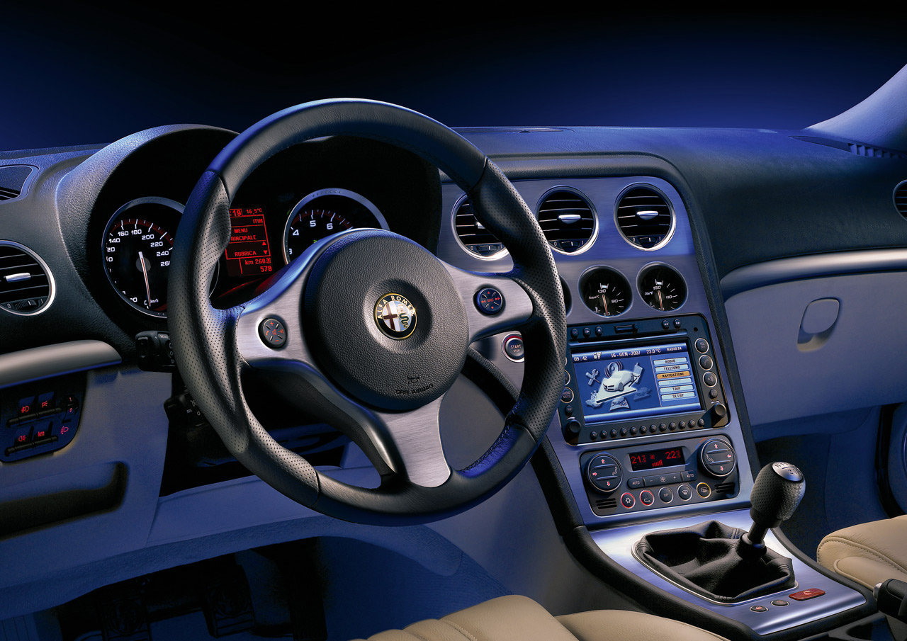 Interior del carro alfa romeo brera lista de carros - Alfa romeo brera interior ...