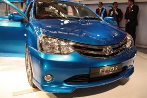 Galería de imágenes del Toyota Etios