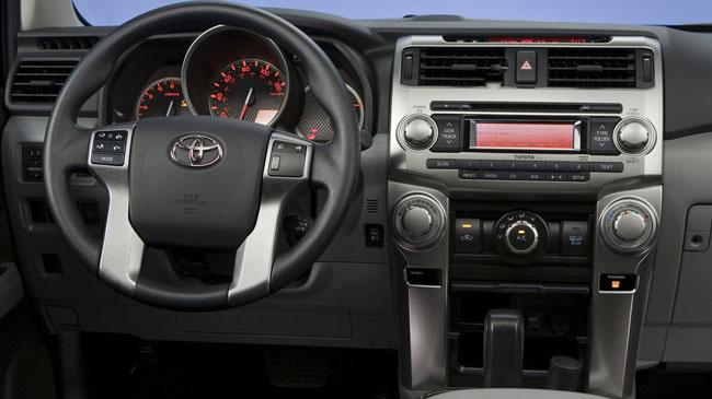 Interior del Toyota 4Runner 2011 | Lista de Carros