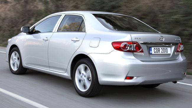 Toyota Corolla Sedan 2011