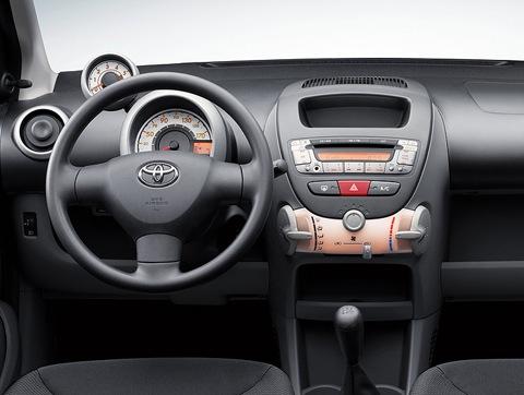 Interior Del Toyota Aygo 2011 Lista De Carros