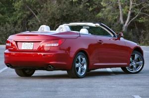 Carro Lexus IS 250C 2011: ficha técnica, imágenes y lista de rivales
