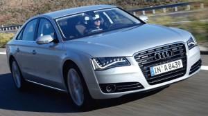 Carro Audi A8 modelo 2011: ficha técnica, 9 imágenes y lista de rivales