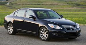 Carro Hyundai Genesis Sedán 2011: ficha técnica, 9 imágenes y lista de rivales