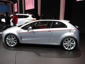 Salón de Ginebra 2011: Volkswagen Giugiaro Tex Concept
