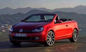 Volkswagen presenta el nuevo Golf Cabriolet 2011 (galería de imágenes)