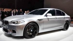 BMW M5 Concept: Imágenes y datos oficiales
