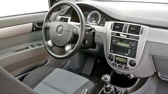 Chevrolet Optra Interior Interior Del Chevrolet Optra