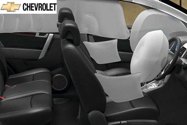 Interior del Chevrolet Captiva 2011 | Lista de Carros