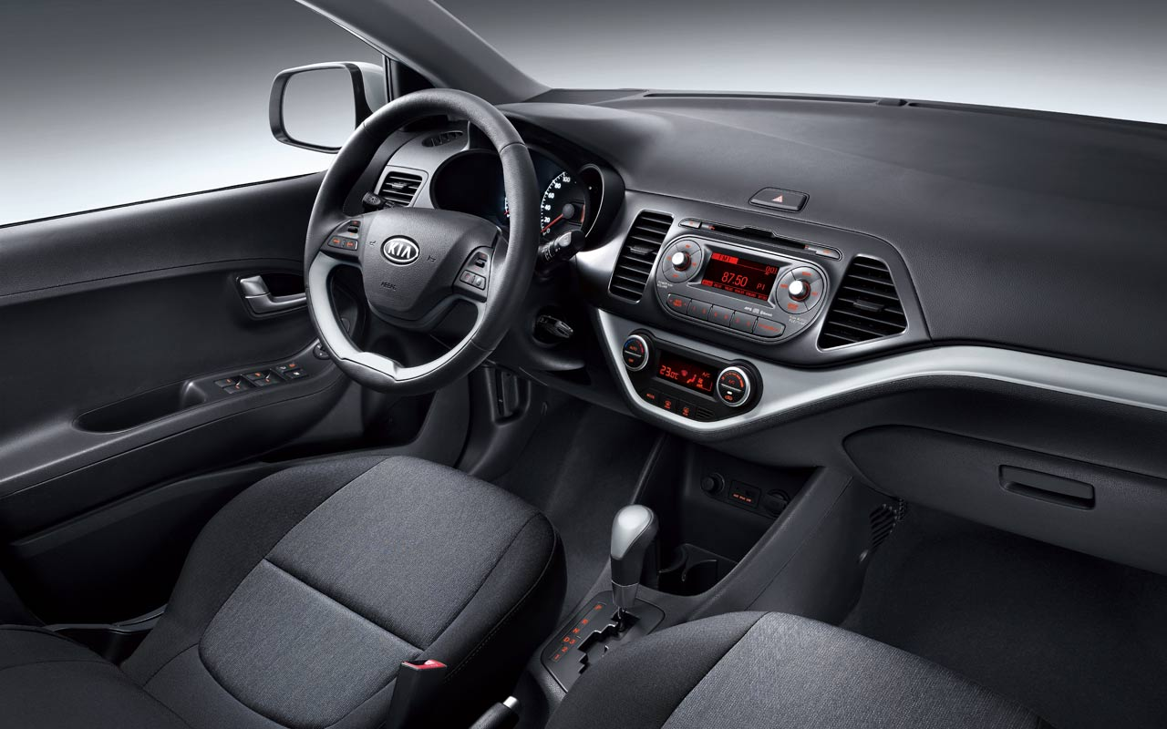 interior del kia picanto ion lista de carros. Black Bedroom Furniture Sets. Home Design Ideas