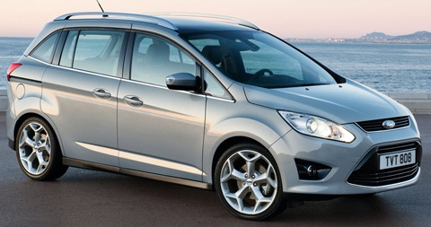 el ford grand c max 2012 llegar con internet lista de carros. Black Bedroom Furniture Sets. Home Design Ideas