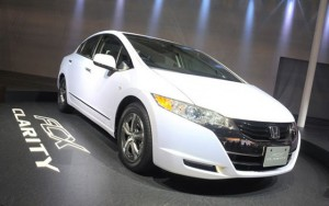 Carro de hidrogeno: Honda FCX Clarity 2011