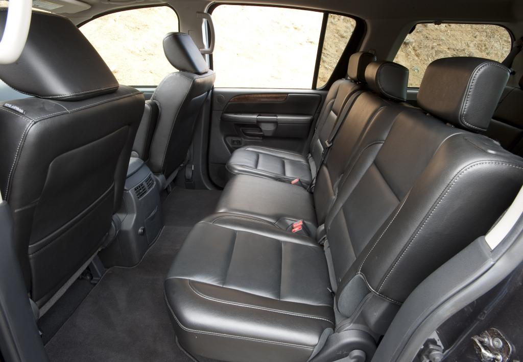 2011 Nissan Armada Interior