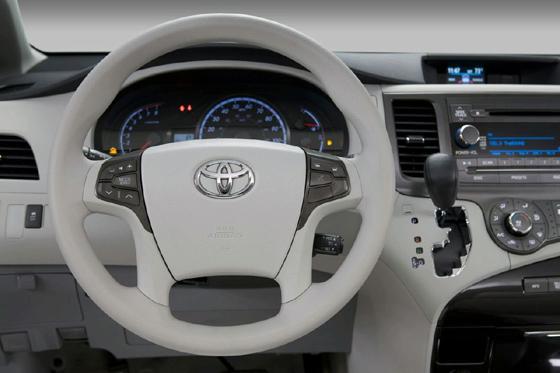 interior del toyota sienna 2011 lista de carros. Black Bedroom Furniture Sets. Home Design Ideas