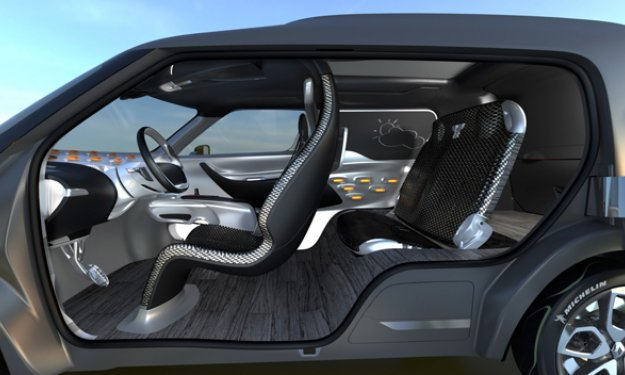 renault frenzy concept im genes y datos oficiales lista de carros. Black Bedroom Furniture Sets. Home Design Ideas
