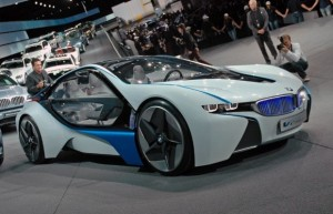 BMW i8 Concept: imágenes y ficha técnica