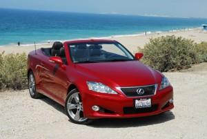 Lexus IS 350 Convertible 2011 (imágenes y datos)